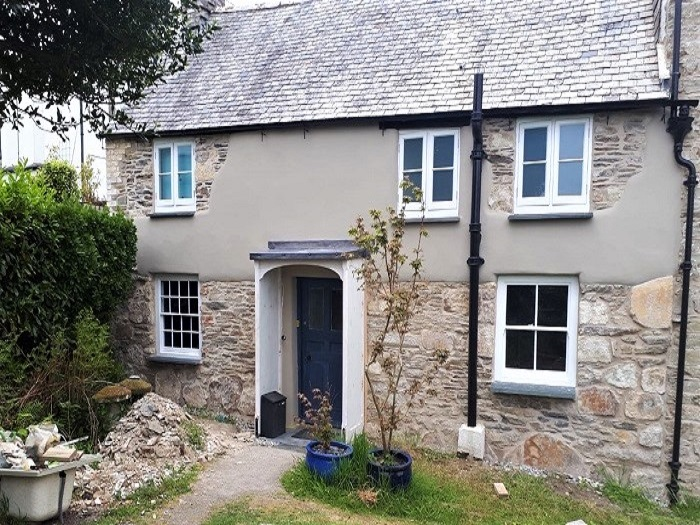 Breathable Insulating Lime Render Cornwall a
