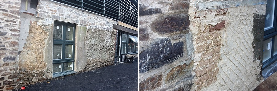 Cob Repair and Lime Plastering