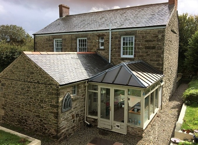 External Lime Pointing in Cornwall