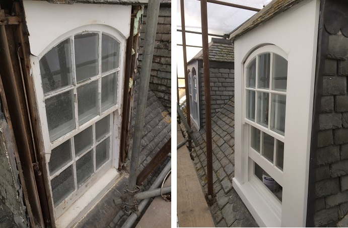 Window Restoration in Isles of Scilly