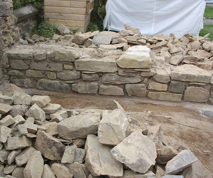 Stone Wall Construction Process Cornwall