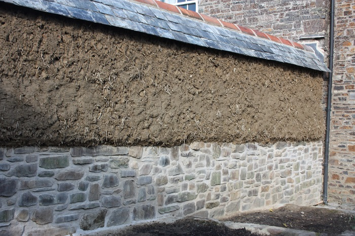 Stone and Cob Wall Construction Cornwall
