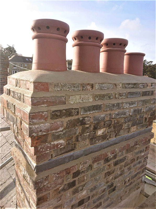 Chimney and Structural Repairs Truro 1