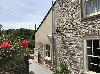 Lime Pointing and Lime Rendering South Devon Area of Outstanding Natural Beauty