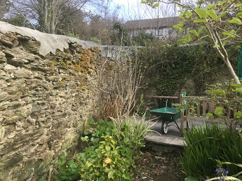Listed Boundary Wall Cornwall a
