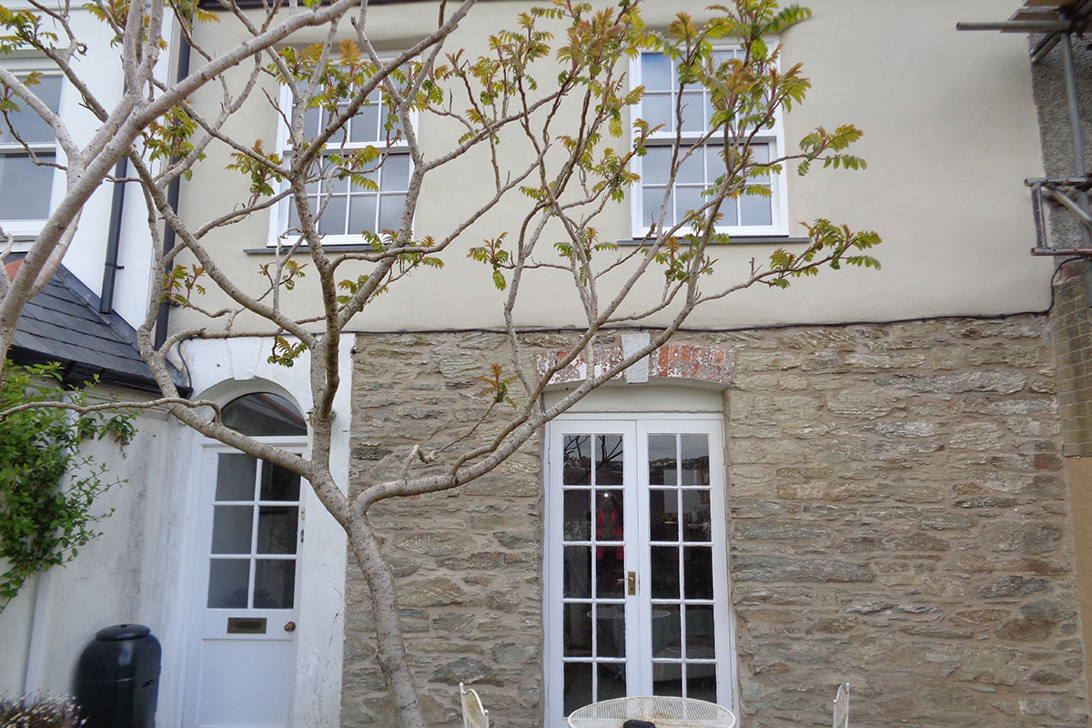 Lime Rendering & Lime Pointing in Cornwall