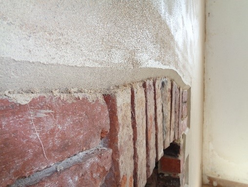 Lime Plastering & Brick Repair in Cornwall