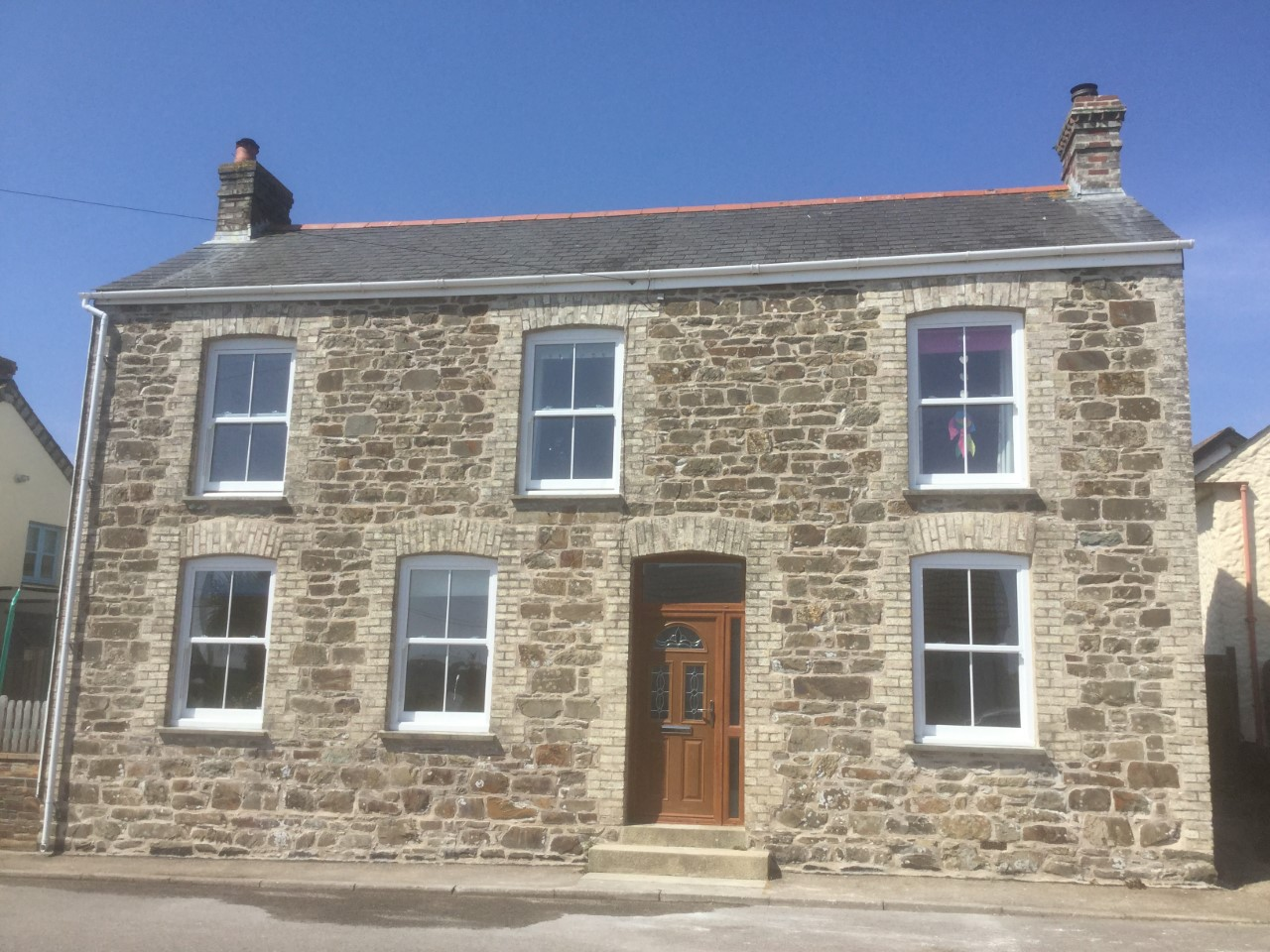 Lime Pointing in Cornwall