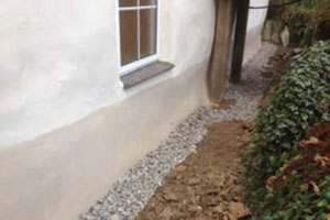 French Drain Installation Cornwall