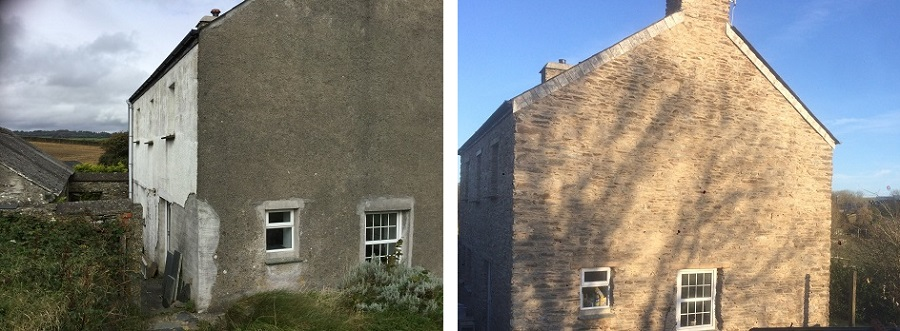 Lime Pointing and Lime Plastering Looe
