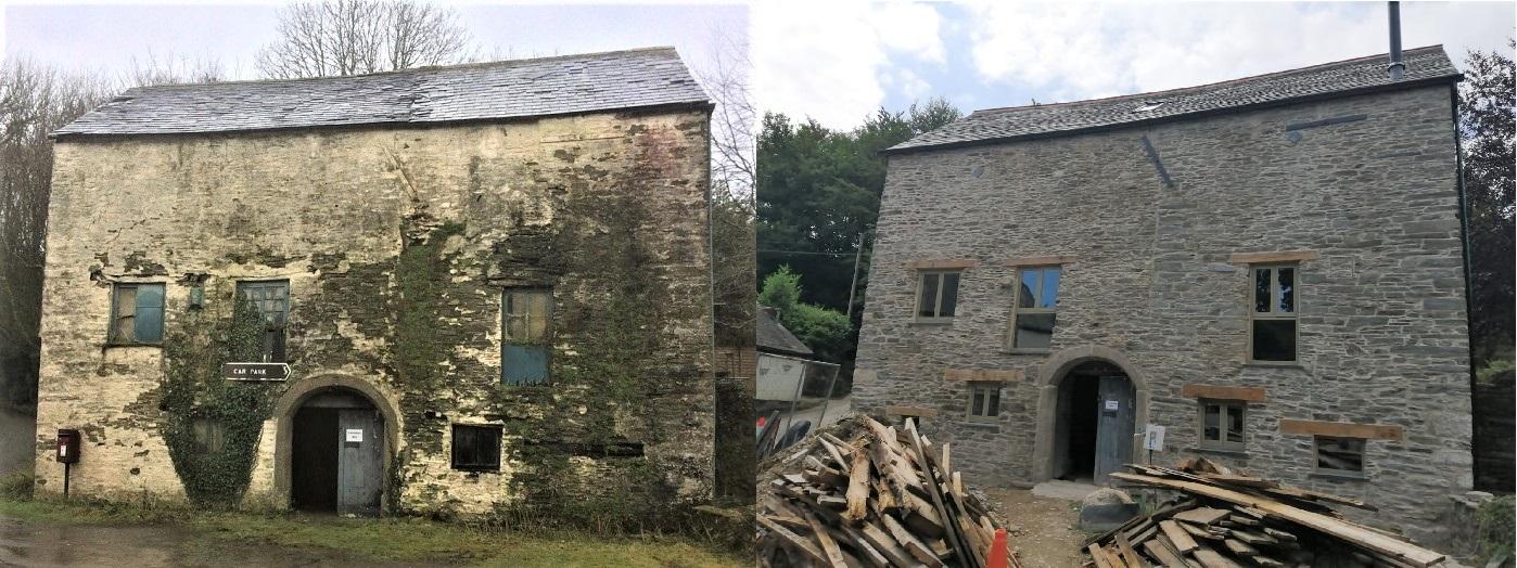 Grade II Historic Mill Restoration Cornwall