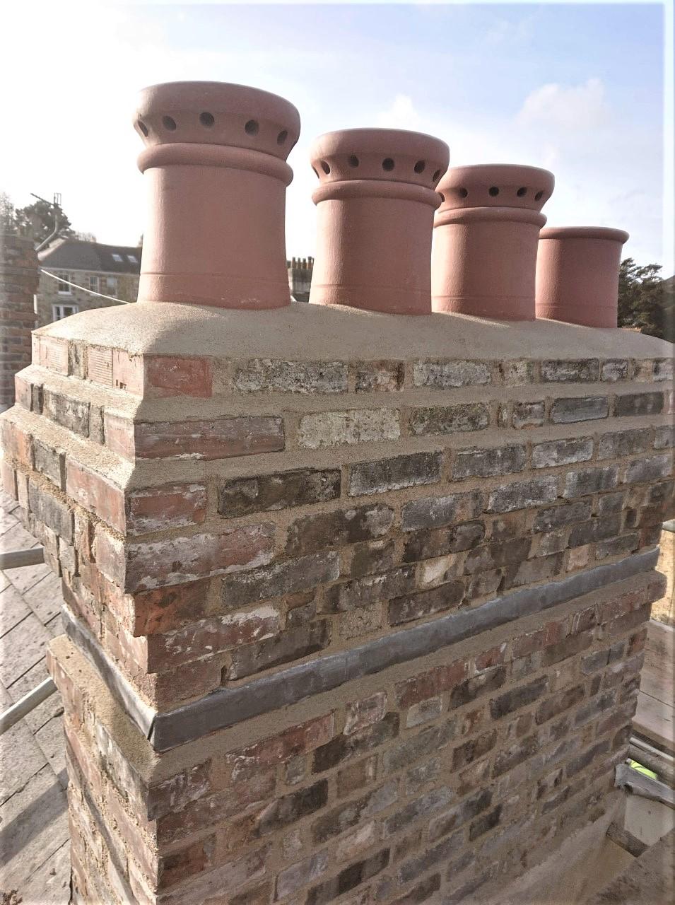 Brick Chimney Repairs Cornwall