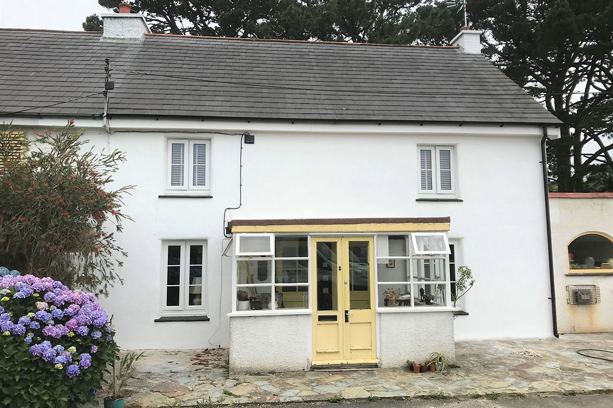 Lime Rendering and Breathable Mineral Paint System Cornwall