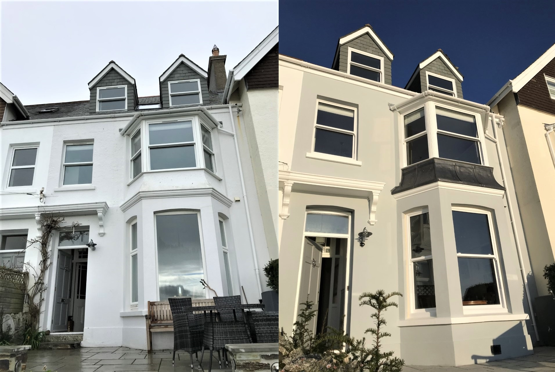 Lime Rendering and Breathable Paint Fowey