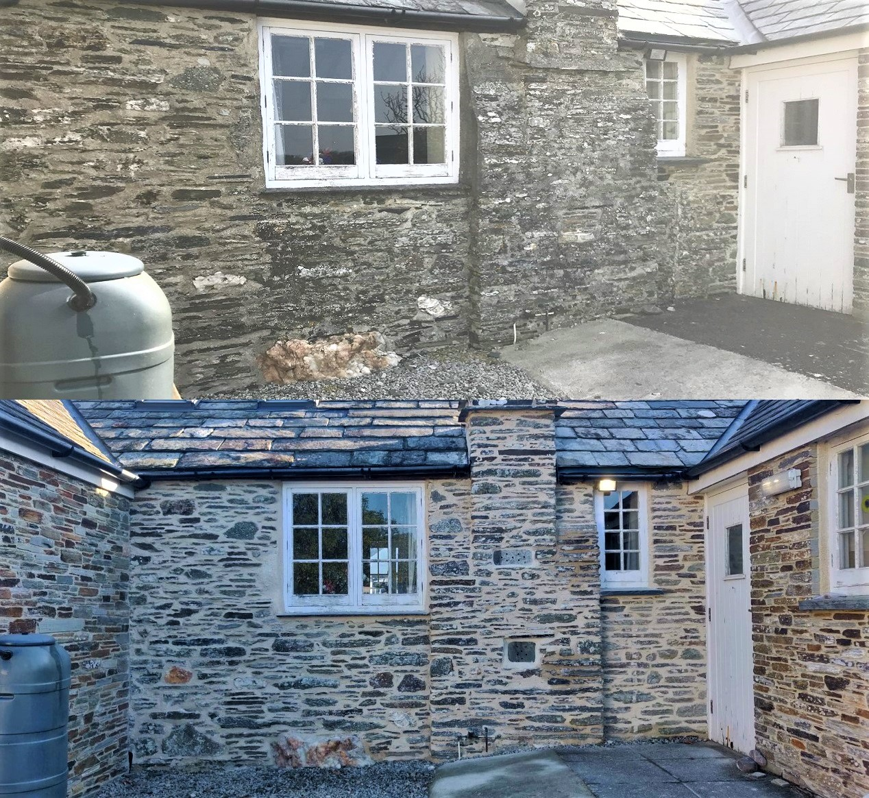 Lime Pointing Tintagel Cornwall