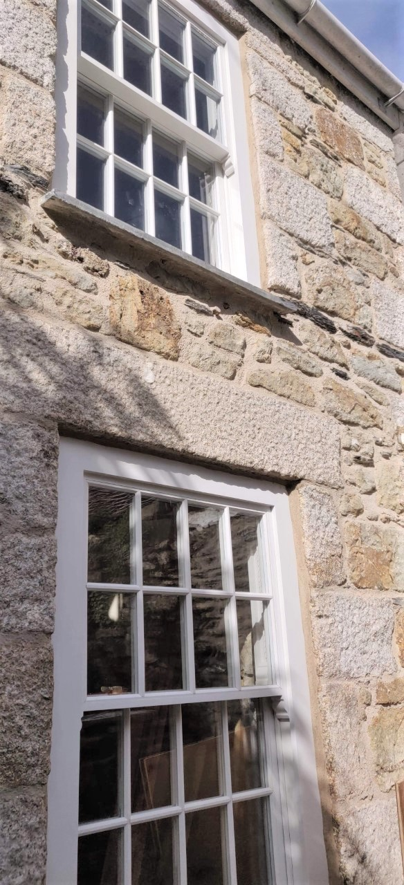 Lime Mortar Pointing Cornwall