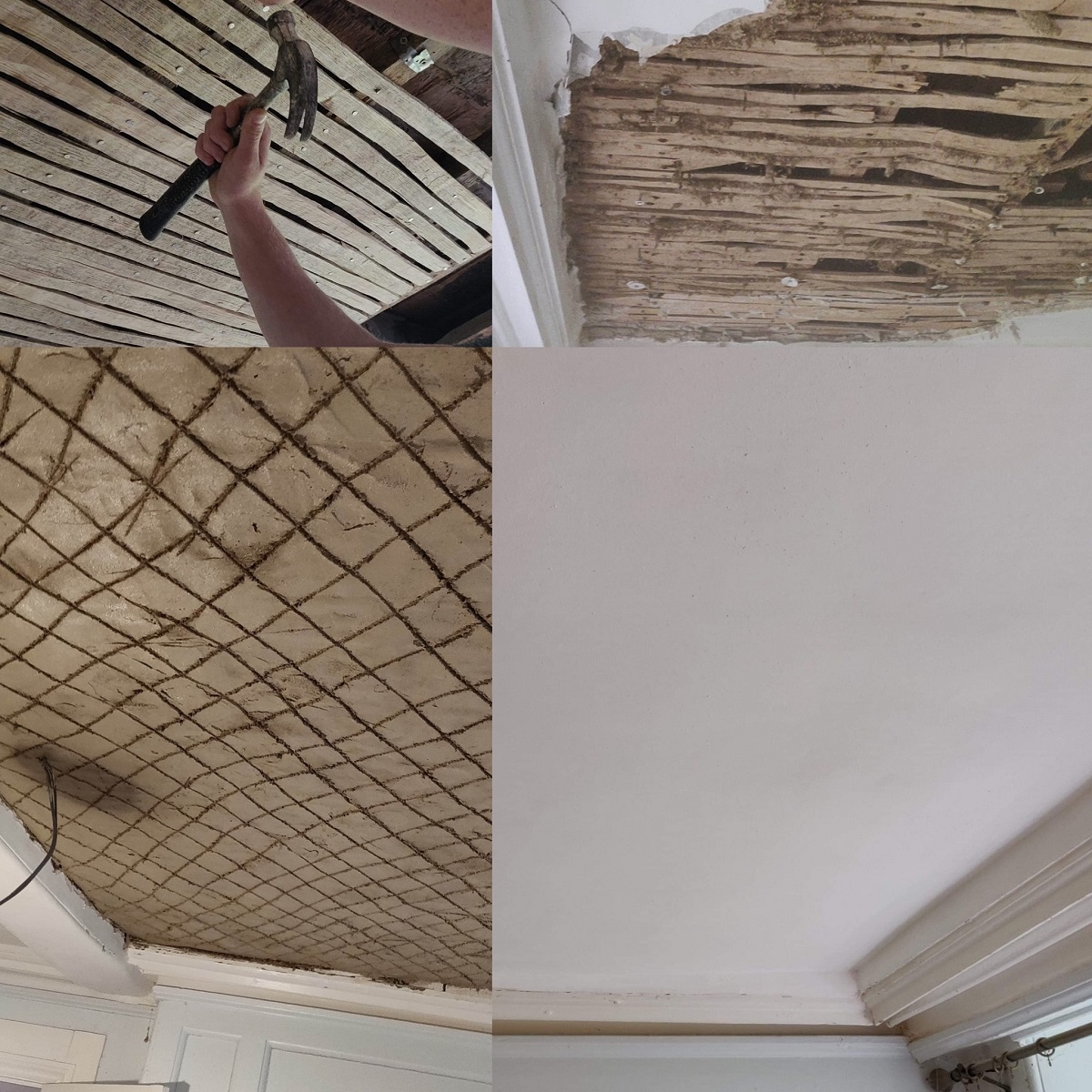Lath and Plaster Ceiling Cornwall
