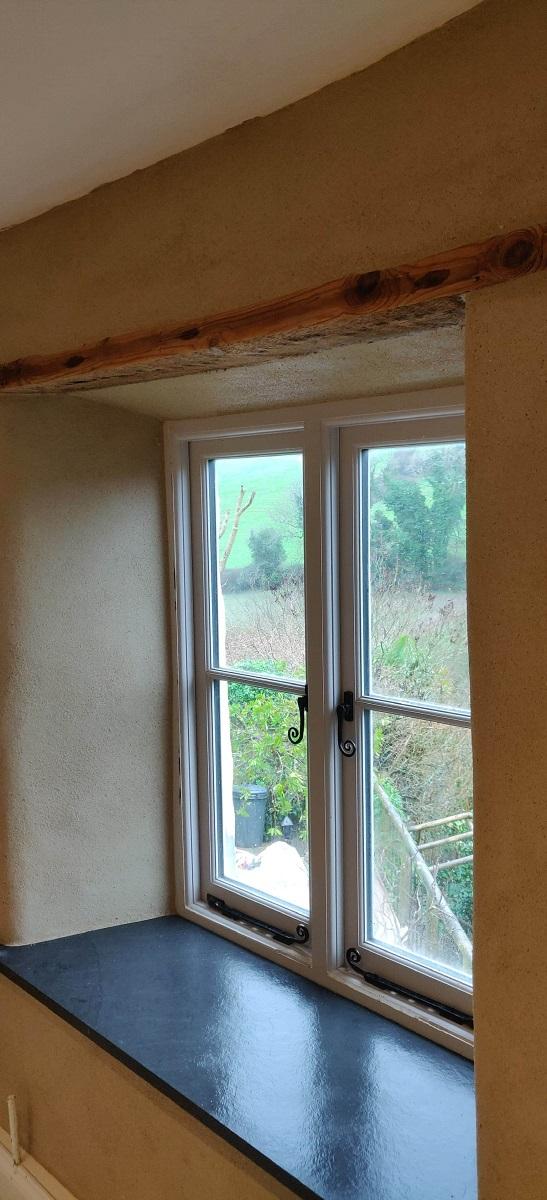 Internal Lime Plastering Cornwall