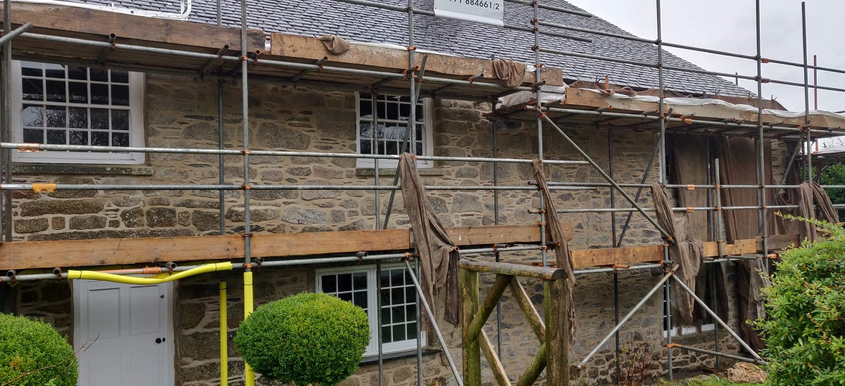 Lime Pointing Sheviock