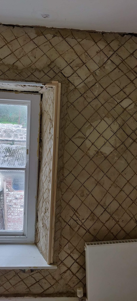 Lime Plastering Process Cornwall