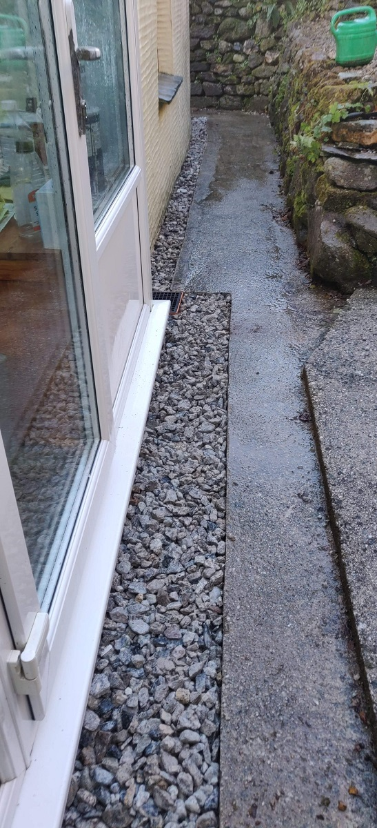Completed Land Drainage Cornwall