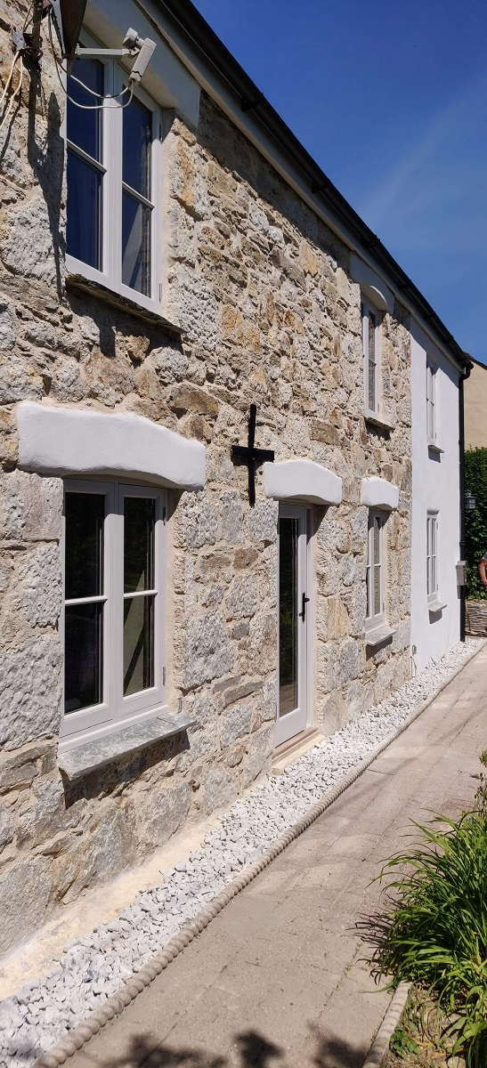 Lime Pointing and Land Drainage Cornwall