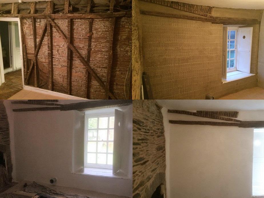 Lath and Plaster Repairs Cornwall