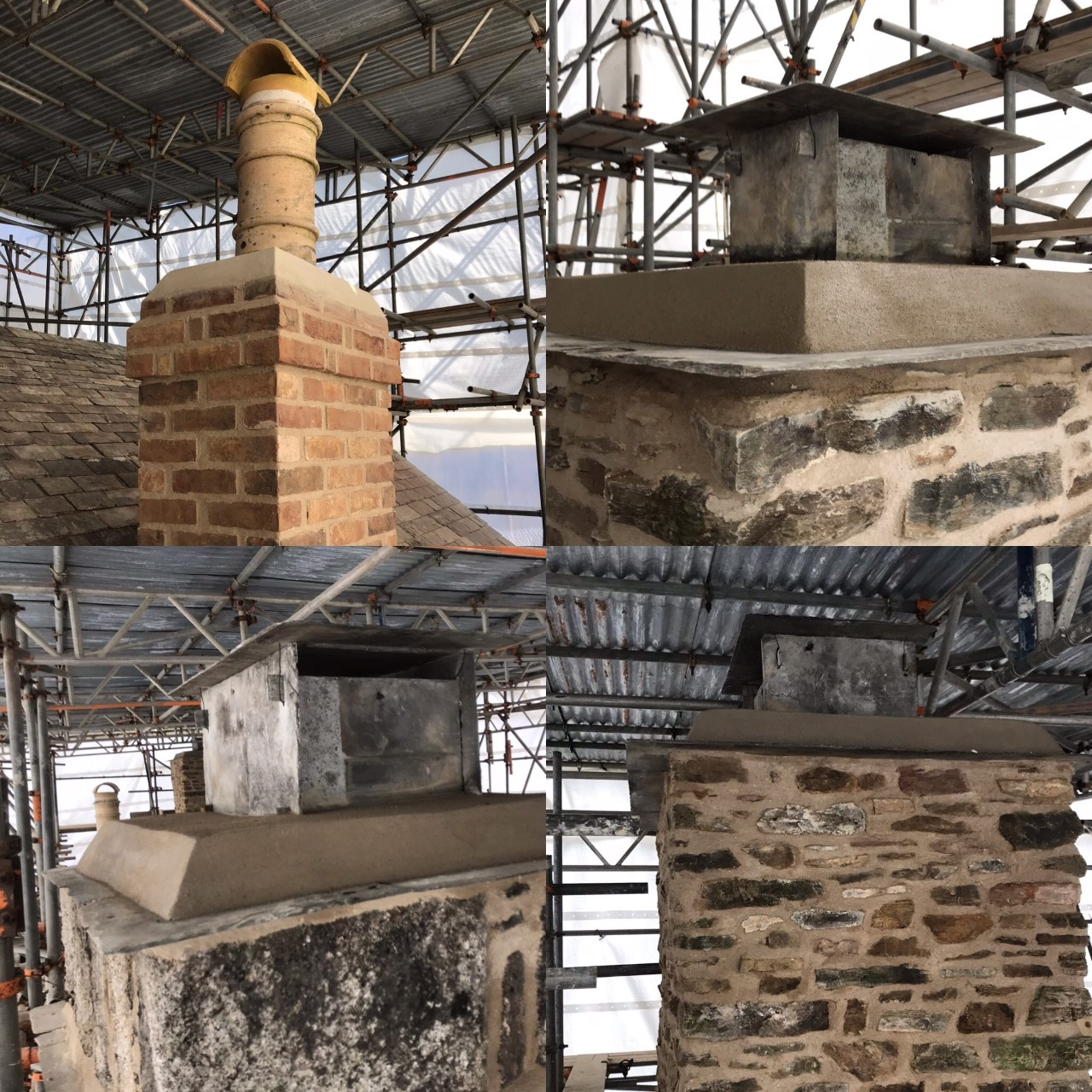 Historic Chimney Repairs Cornwall
