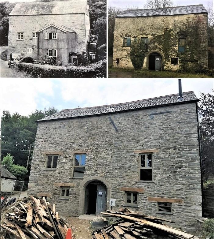 Historic Listed Mill Restoration Cornwall