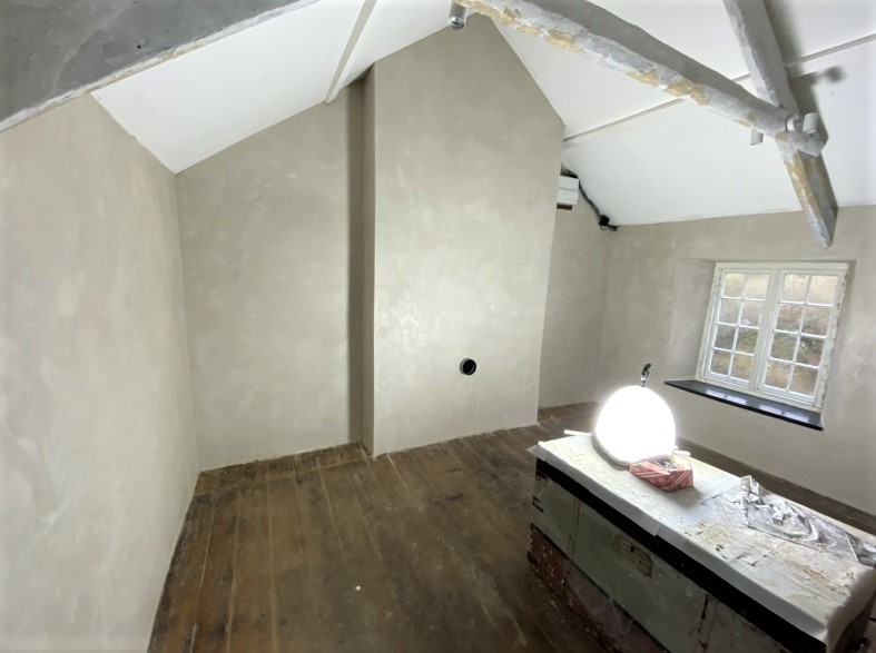 Insulative Lime Plaster Cornwall