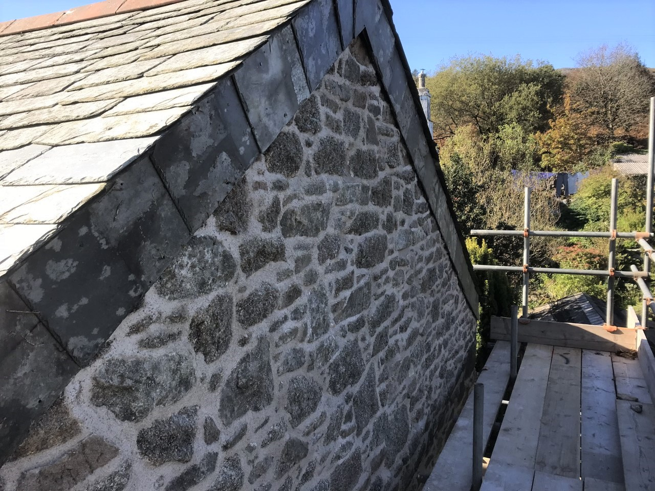 Lime Pointing Stone Cornwall