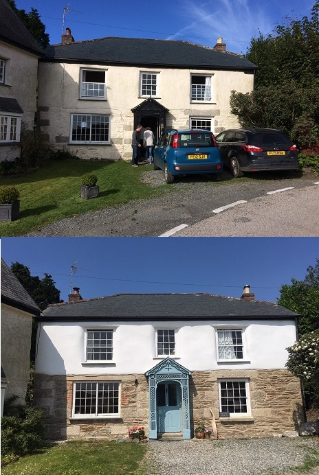 Lime Pointing and Lime Plastering West Cornwall