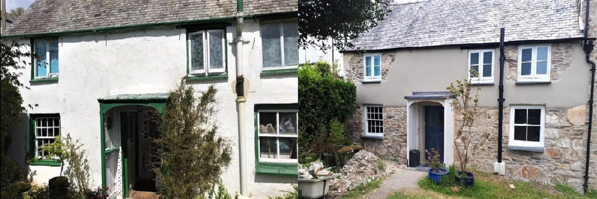 Lime Render and Lime Pointing Cornwall