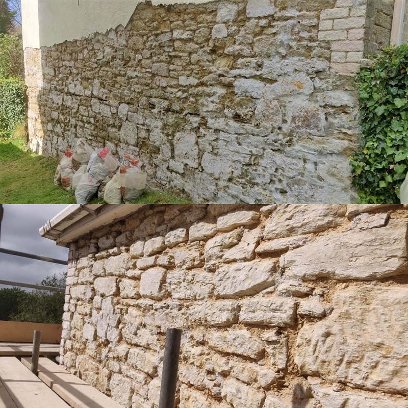 Cement Render Removal Process Cornwall