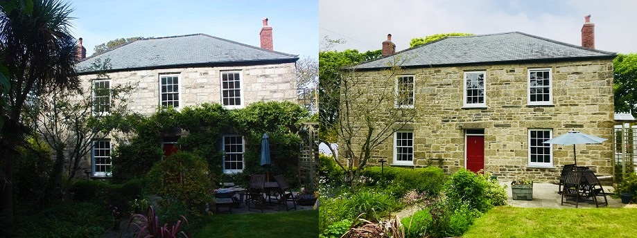 Lime Pointing Grade II Listed House