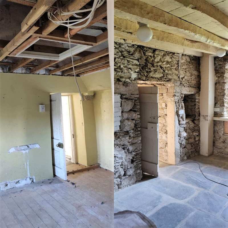 Non Breathable Plaster Removal Cornwall