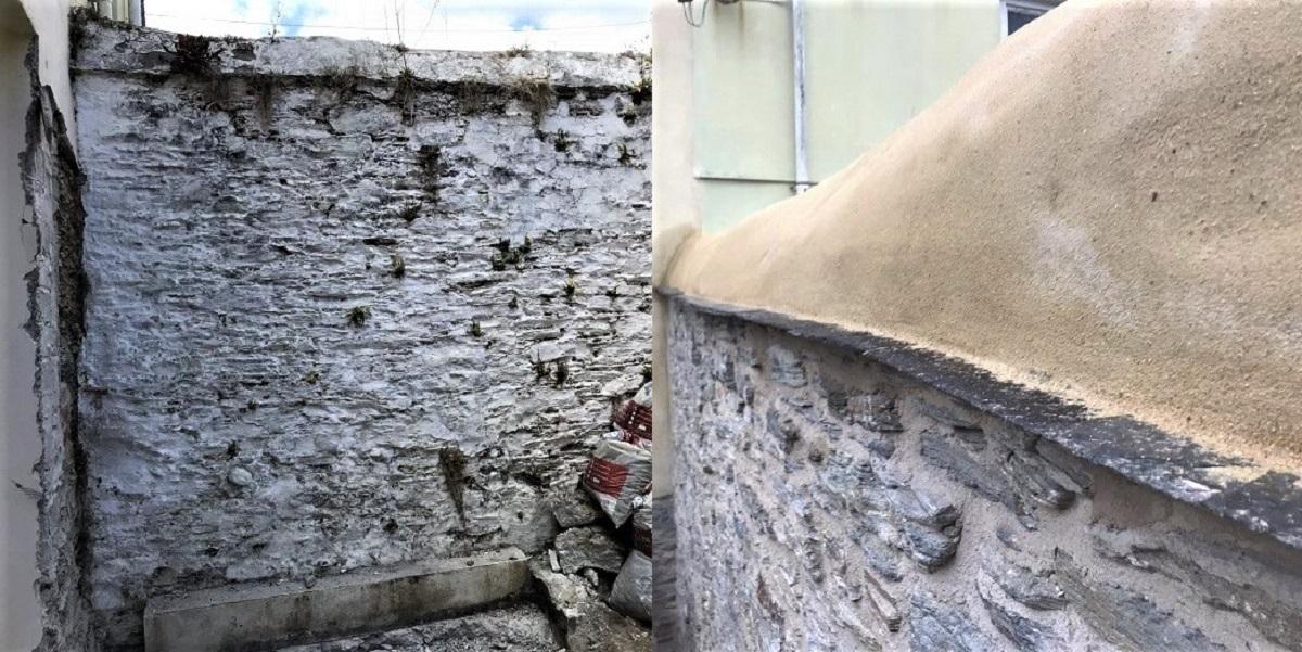 Stone Wall Repair Cornwall